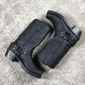 "Durango 10"" Harness Boot Black Motorcycle"